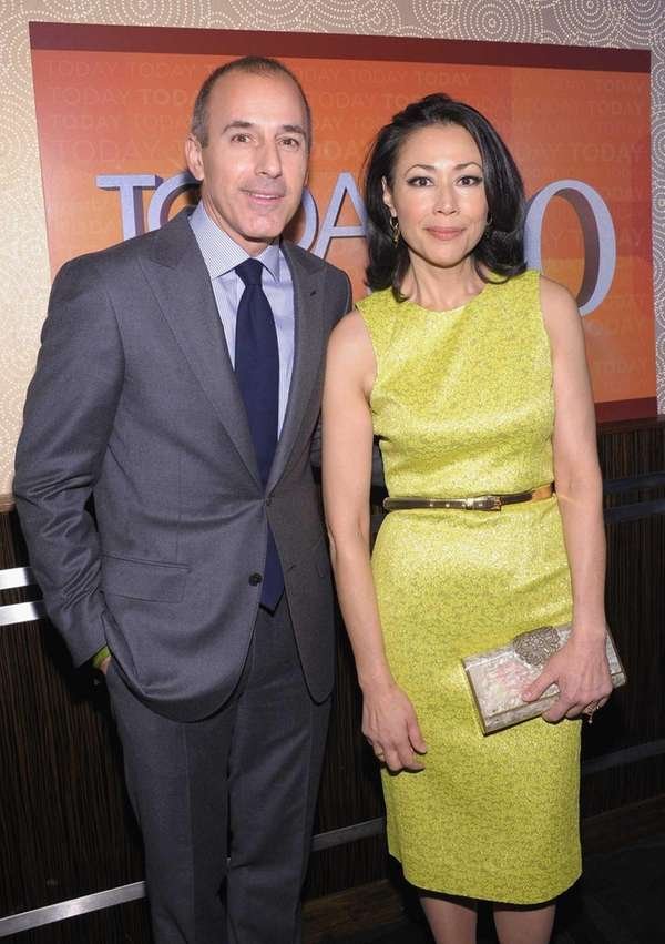 "Matt Lauer and Ann Curry attend the ""TODAY"""