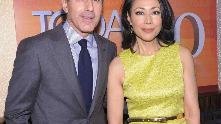 Matt Lauer and Ann Curry attend the