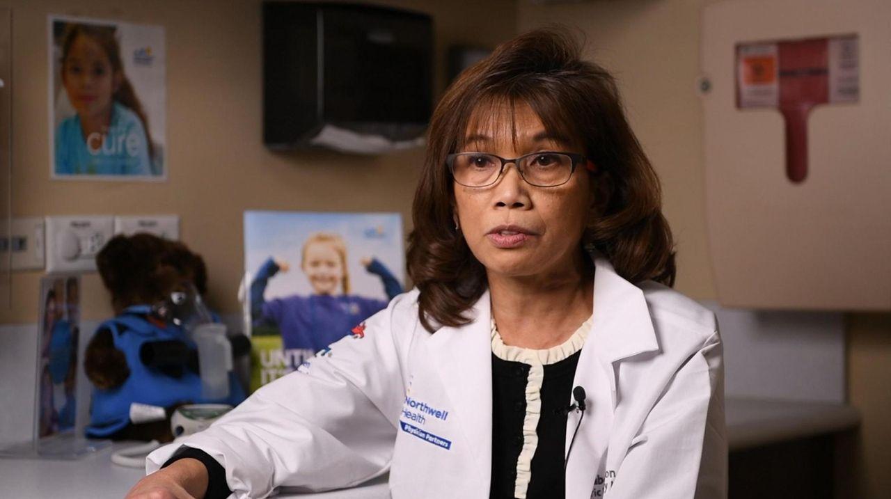 Dr. Annabelle Quizon of Cohen Children's Medical Center