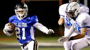 North All Star RB Justin Wank picks up