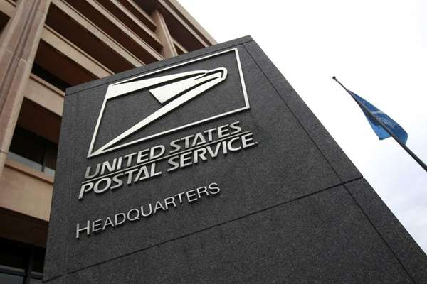 The nearly bankrupt United States Postal Service on