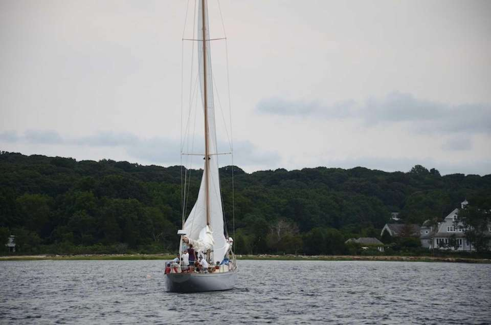 The yacht named Caper sailed into third place