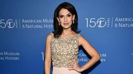 Hilaria Baldwin attends the American Museum of Natural