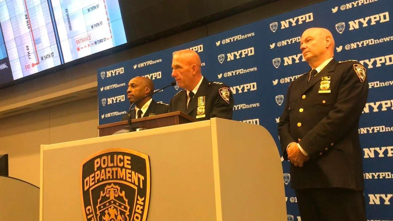 James Waters, NYPD chief of counterterrorism, talks at