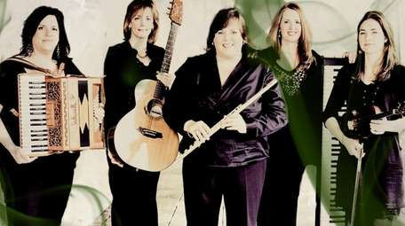 Cherish the Ladies plays traditional Irish holiday melodies.