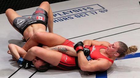 Kayla Harrison defeated Bobbi Jo Dalziel by first-round