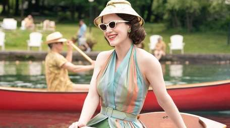 """Mrs. Maisel"" wears many hats. A portion of"