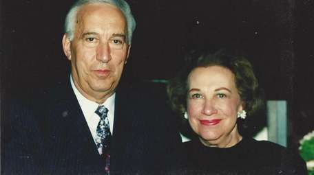 Rose Harper pictured with her brother, John, the