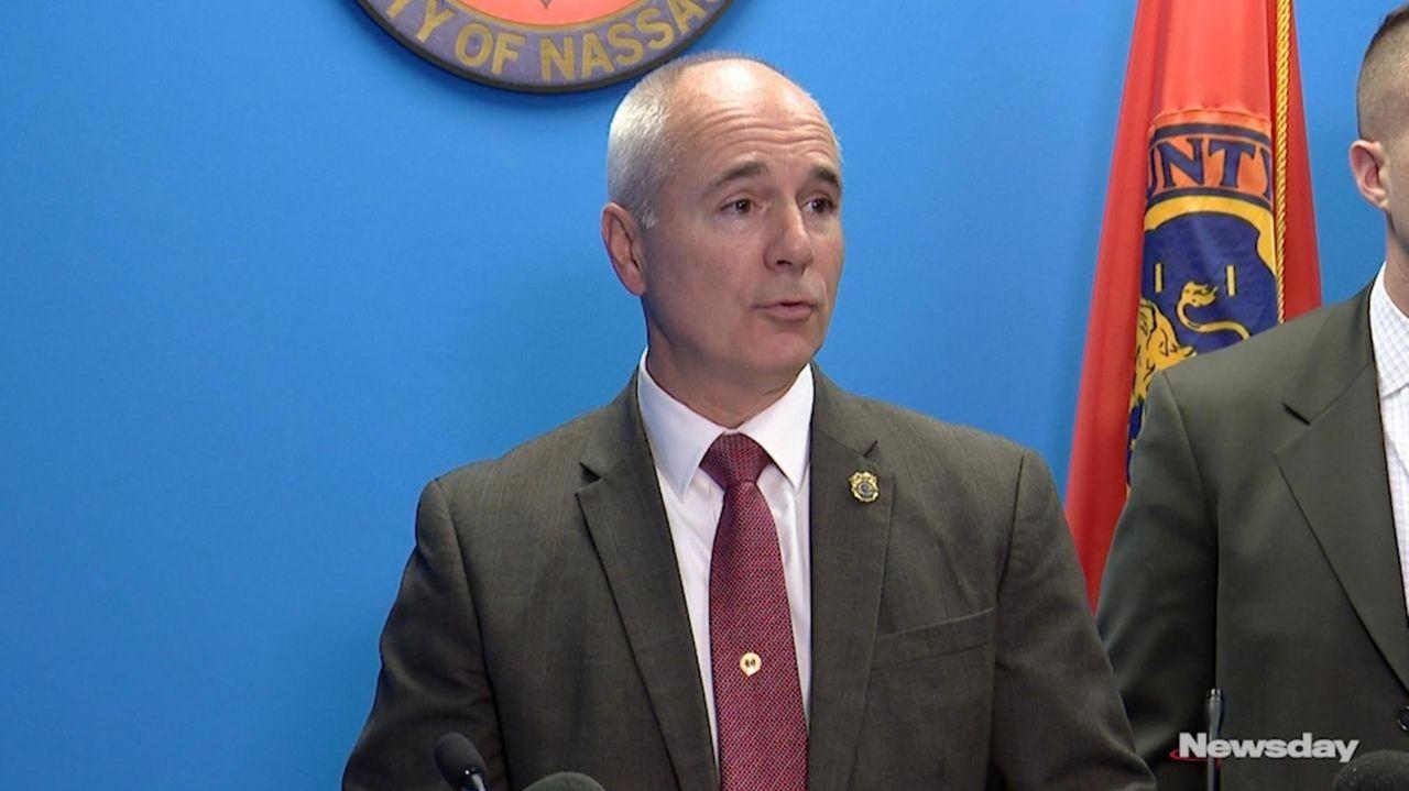 Nassau police Det. Lt. Richard LeBrun spoke Wednesday