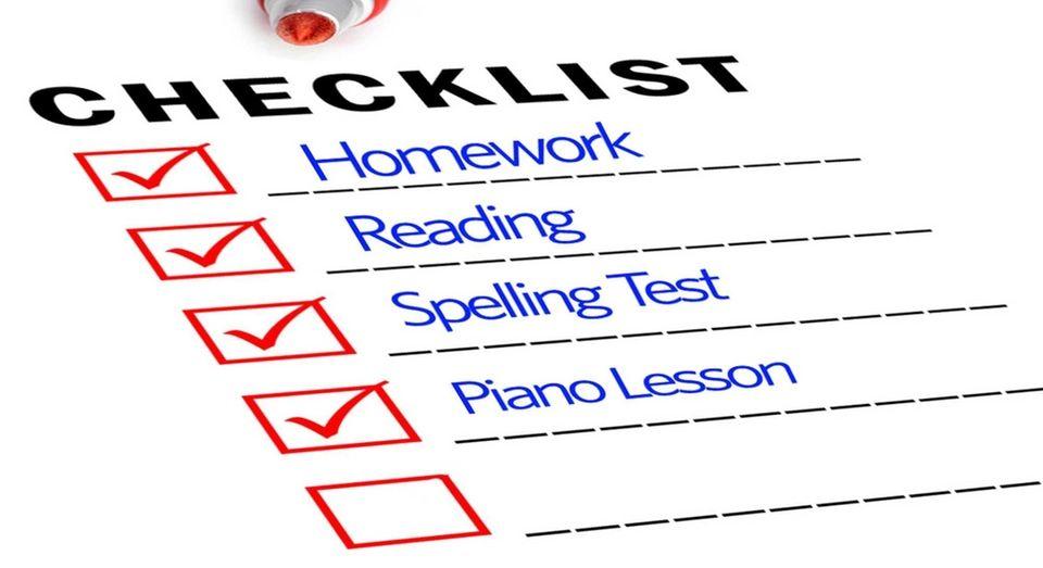 Create daily charts. Using charts to display accomplishments