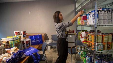 Kayla Gangemi, community outreach assistant for Memorial Sloan