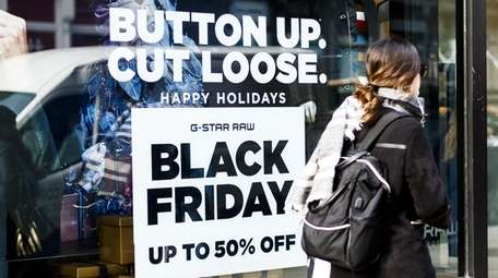 Black Friday is the biggest day for store