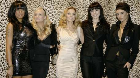 The Spice Girls, from left, Melanie Brown, Emma