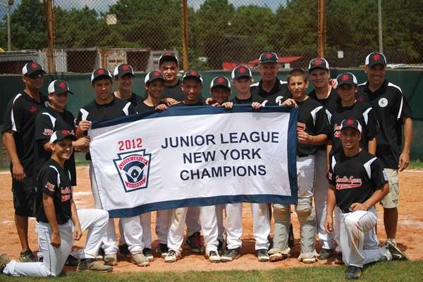 Franklin Square Little League Junior Boys are the