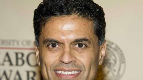 Columnist and TV host Fareed Zakaria at the
