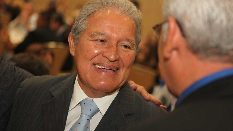 Vice President of El Salvador Sanchez Ceren during
