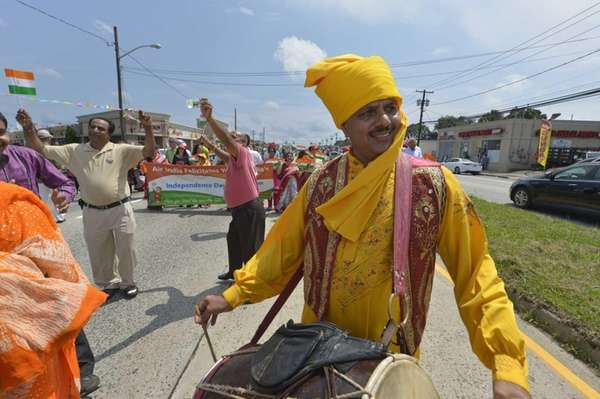 The India Day Parade takes place in Hicksville.