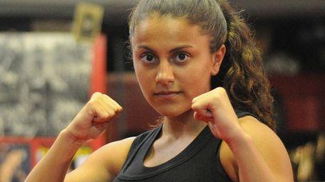 Alyssa Pierro poses during the Long Island Amateur