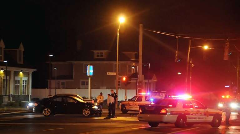Multiple pedestrians were struck by a vehicle, with