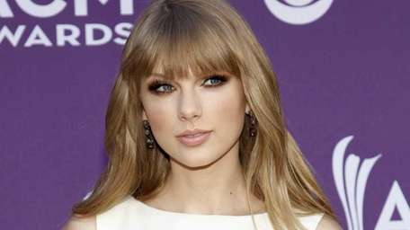 Taylor Swift attends the 47th Annual Academy of