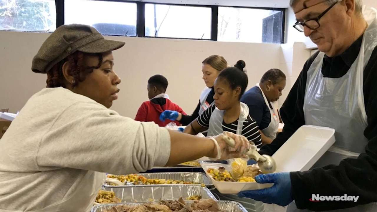 Volunteers at the Bethesda Seventh Day Adventist Church
