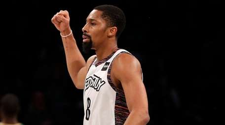 Coach Kenny Atkinson said Spencer Dinwiddie is playing