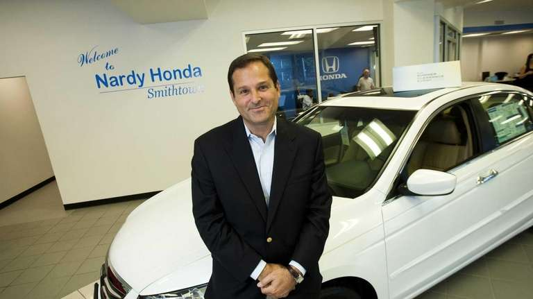 Lee Certilman, of Nardy Honda in St. James,