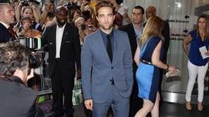 "Actor Robert Pattinson attends the premiere of ""Cosmopolis"