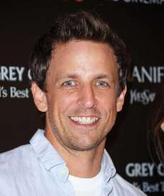 Actor Seth Meyers attends The Cinema Society &