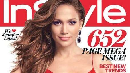 Jennifer Lopez covers the September issue of InStyle.