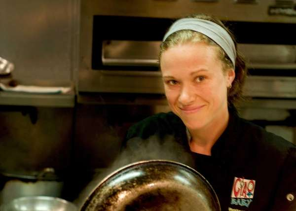 Jellyfish chef Heather West, when she cooked at