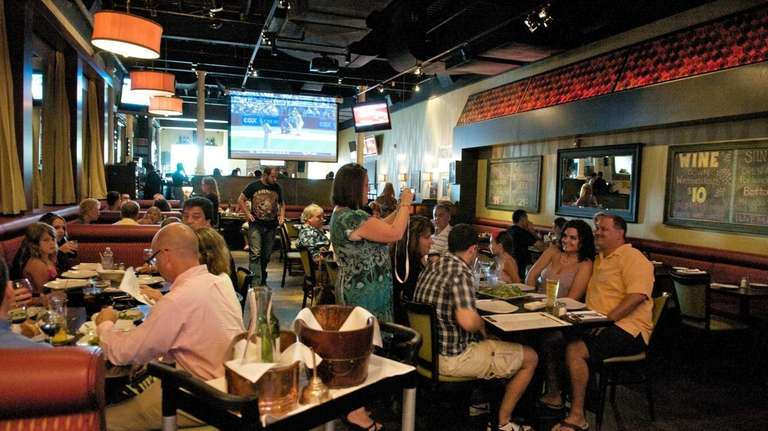 Ciao Baby restaurant in Commack has a lively,