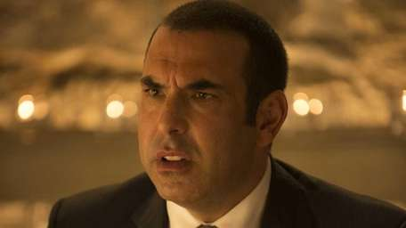 "Rick Hoffman as Louis Litt in ""Suits."""