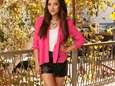 Shay Mitchell shows off her fall style at