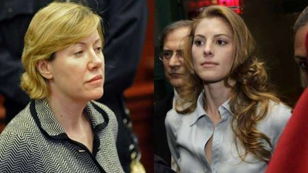 Anna Gristina, left, is accused of operating a