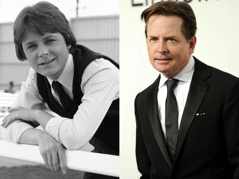 Michael J. Fox, in 1983, as conservative teenager