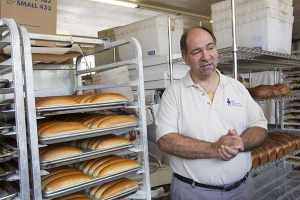 Keith Kouris, owner of the Blue Duck Bakery