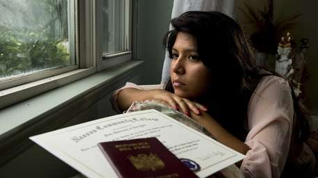 Immigrant applicant for the Obama's temporary legalization plan