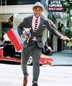 Victor Cruz in the September 2012 issue of