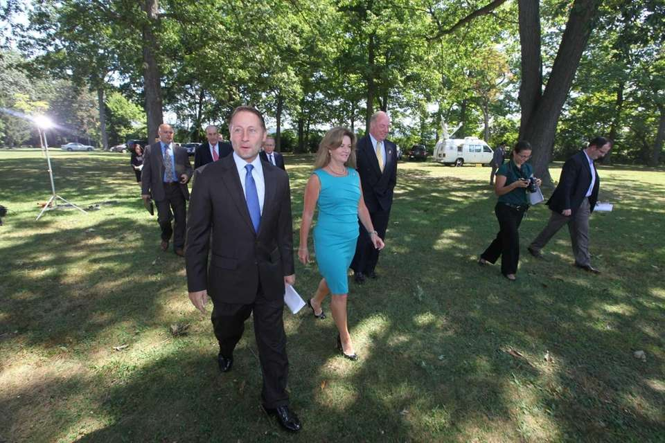 Westchester County Rob Astorino, Putnam County Executive Mary