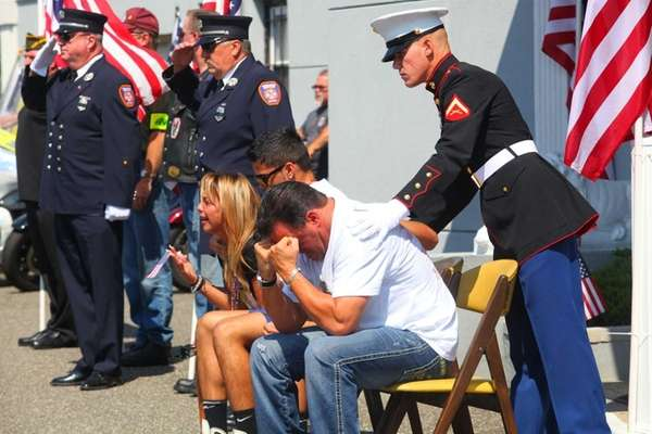 The family of Marine Lance Cpl. Greg Buckley