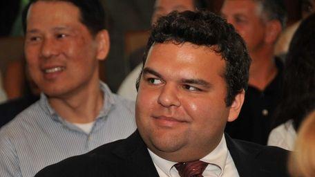 Rich Dallojacono, 22, of Selden, won $10,000 in