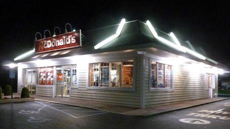 McDonalds in Southampton. (June 8, 2012)