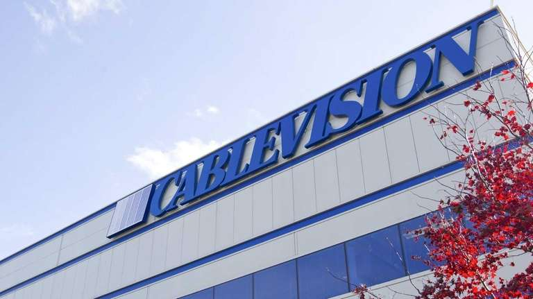The Cablevision Systems Corp. headquarters in Bethpage. (Nov.