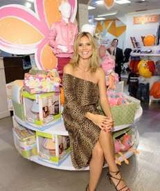 Heidi Klum unveils her Truly Scrumptious collection at