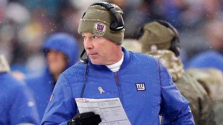 Pat Shurmur is 7-21 as Giants coach following