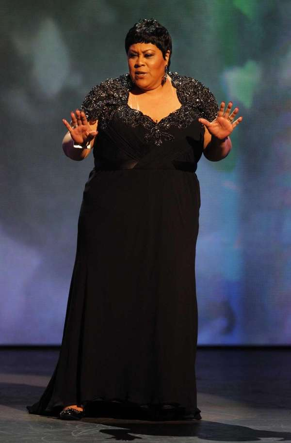Martha Wash performs during the 65th annual Tony
