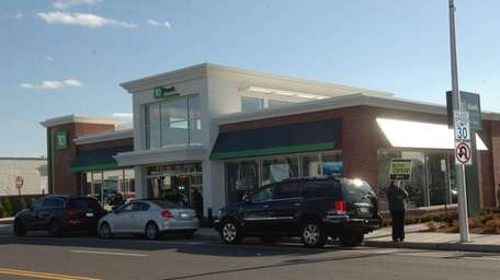 A TD Bank location in Rockville Centre.