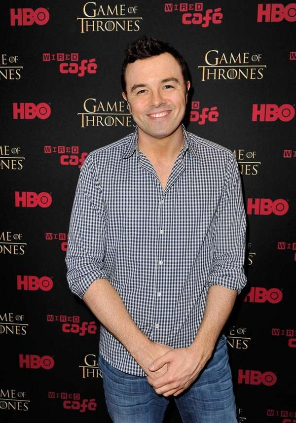 "Creator/writer Seth MacFarlane attends the ""Game Of Thrones"""