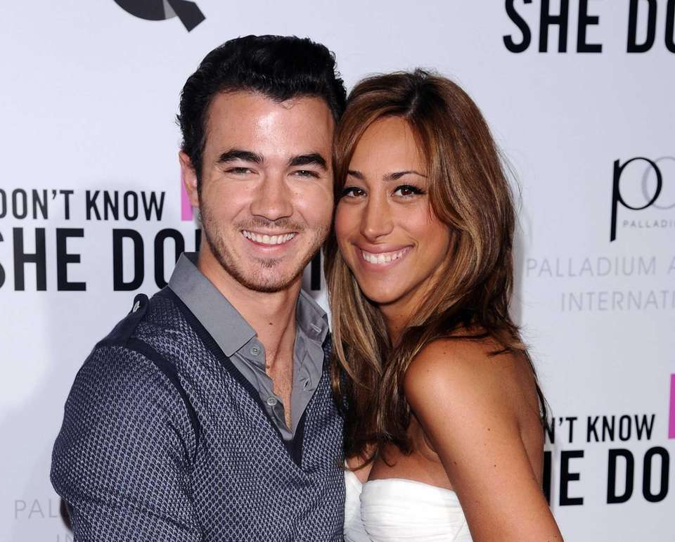 Eldest Jonas brother Kevin married Danielle Deleasa at